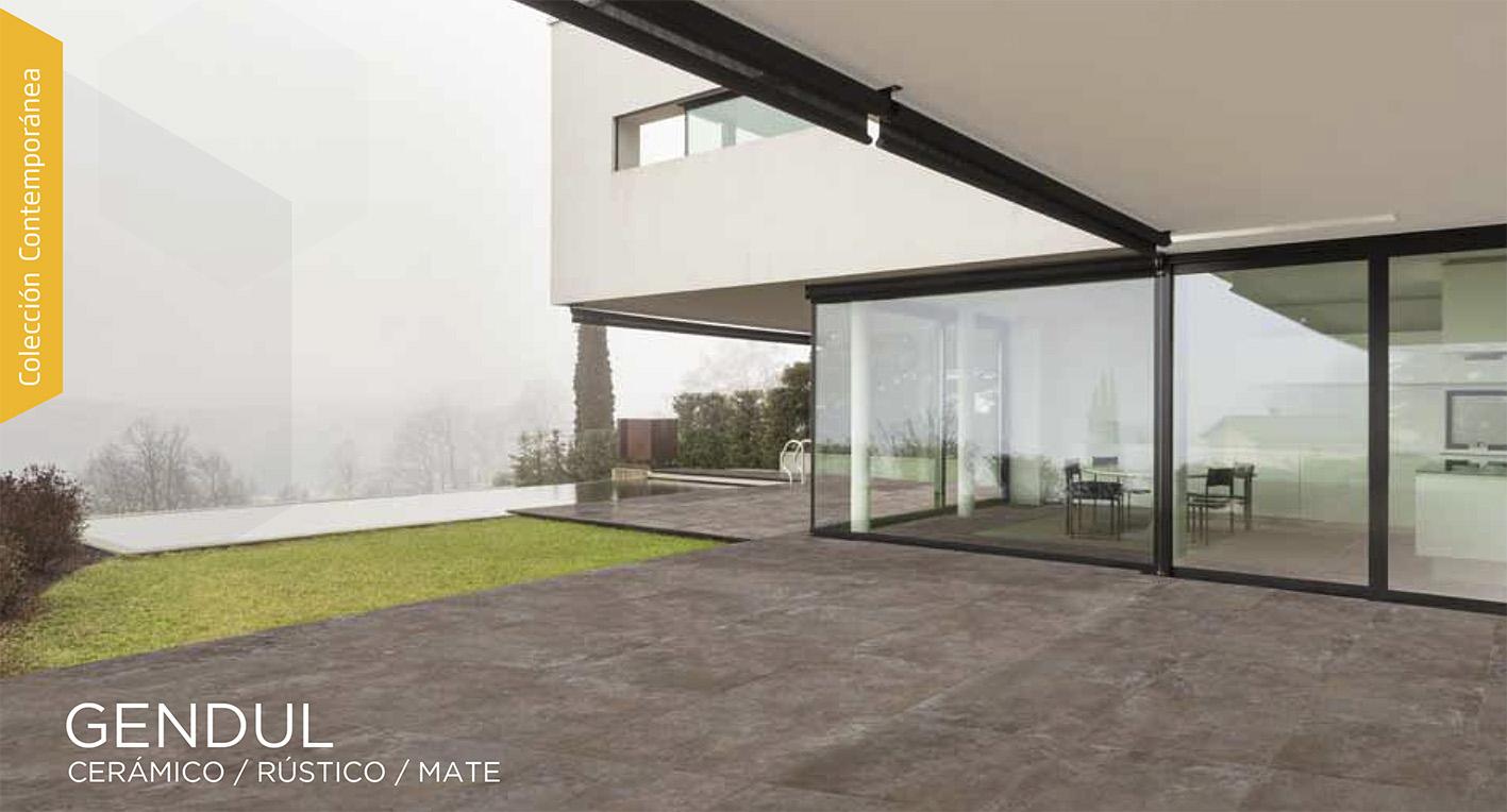 Gapiasa s a de c v piso gendul for Pisos antideslizantes para exteriores